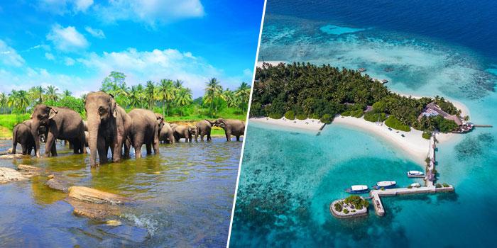 Combiné Sri-Lanka et Maldives